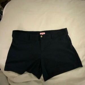 Lilly Pulitzer Navy Blue Shorts Size 14